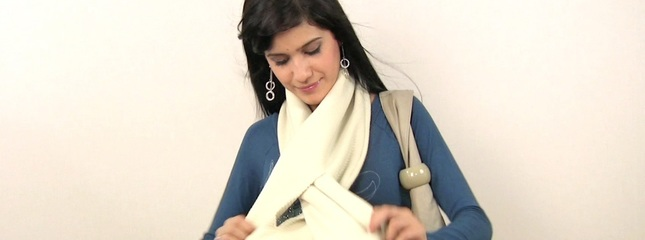 video Make Your Own Cozy Scarf